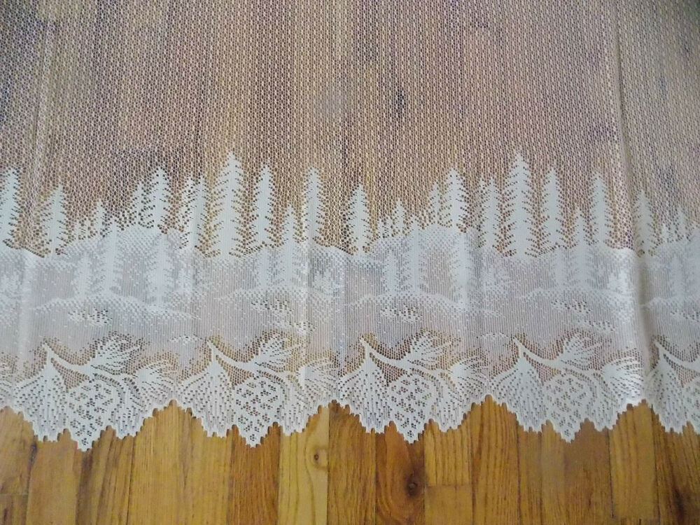 Ivory Lace Curtains