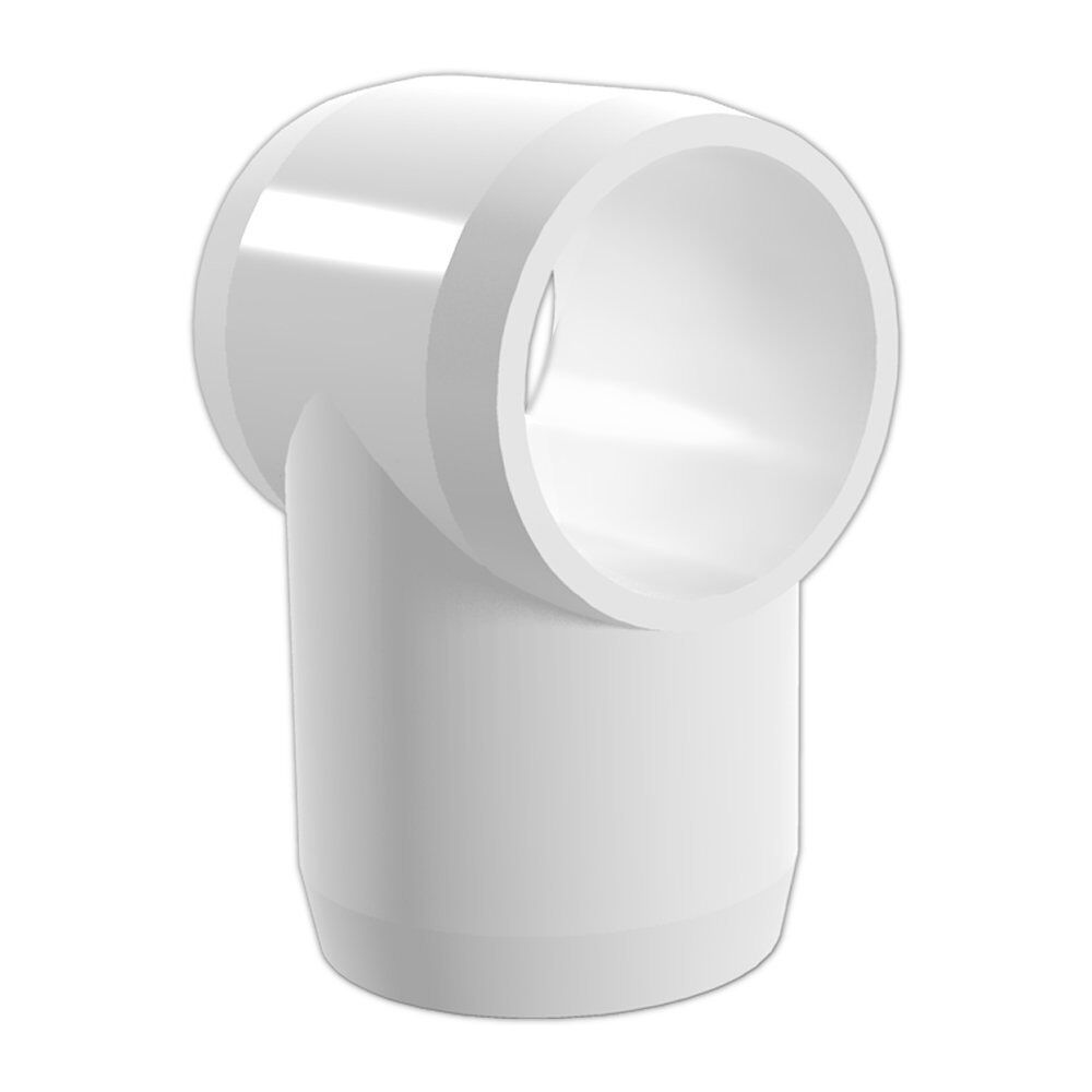 3 Way Pvc Corner Connectors : Pipe connector joint pack corner tube buiding way tee