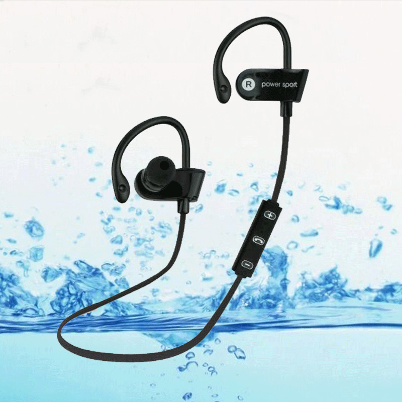 bluetooth ear hook wireless sports stereo waterproof headset earphone for iphone ebay. Black Bedroom Furniture Sets. Home Design Ideas