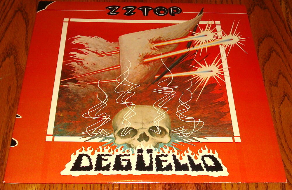 Zz Top Deguello Original Lp With Inserts 1979 Ebay