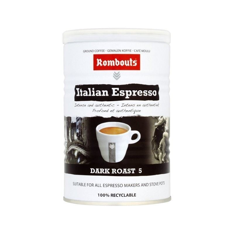 rombouts italian style ground coffee 227g ebay. Black Bedroom Furniture Sets. Home Design Ideas
