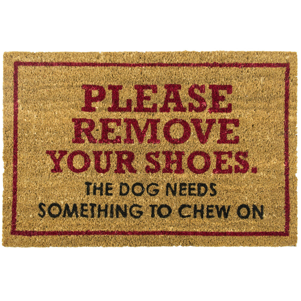 Please Remove Shoes Large Doormat Outdoor Front Door Non