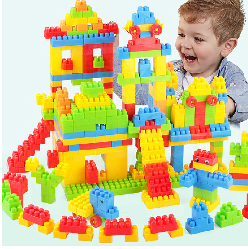 Best Toy Building Blocks For Toddlers And Kids : Wholesale pc plastic building blocks kids toy children