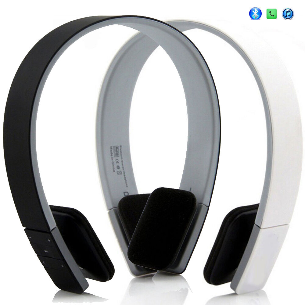 stereo bluetooth headphones wireless earbuds for working out sports running gym ebay. Black Bedroom Furniture Sets. Home Design Ideas