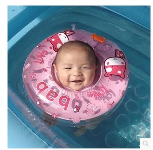 Best Safety Baby Neck Float Infant Ring Swimming Pool Toy