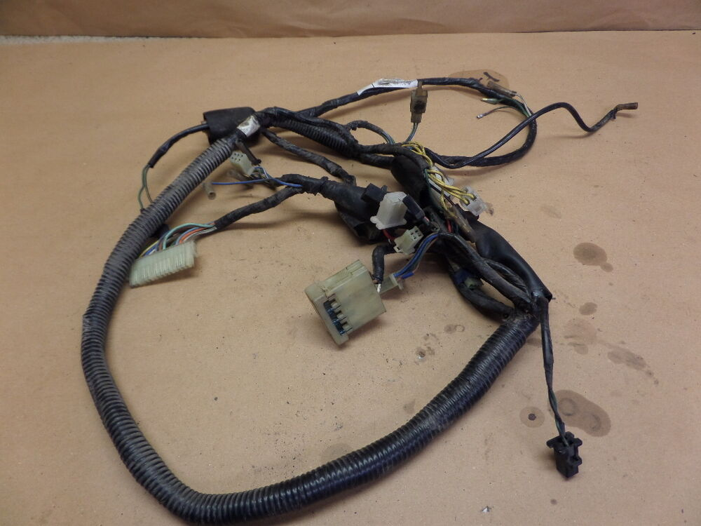 1984 Honda Ch 125 Elite Scooter Main Wiring Harness