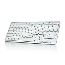 ULTRA SLIM ALUMINUM UNIVERSAL WIRELESS BLUETOOTH 3.0 KEYBOARD KEYPAD for TABLETS