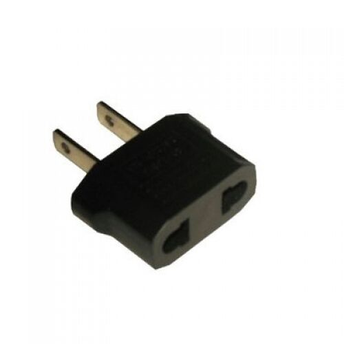 european to american adapter plug converter eu to usa ebay. Black Bedroom Furniture Sets. Home Design Ideas
