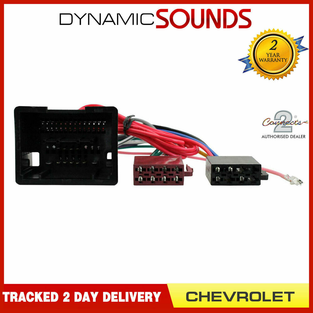 Ct20cv03 Car Radio Stereo Wiring Harness Adaptor Lead For Chevrolet Saab Adapters Spark 3776677325612 Ebay