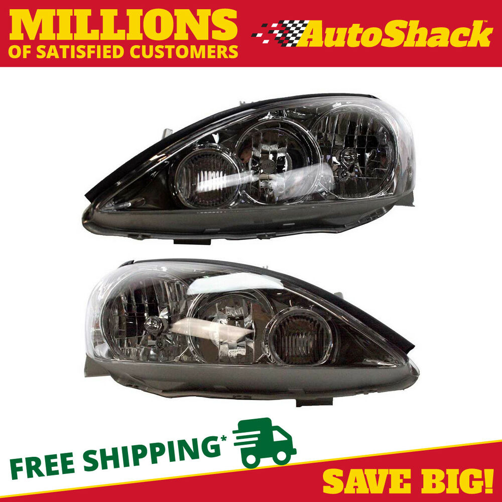 new pair of 2 front headlight assemblies for a 2005 2006 toyota camry ebay. Black Bedroom Furniture Sets. Home Design Ideas
