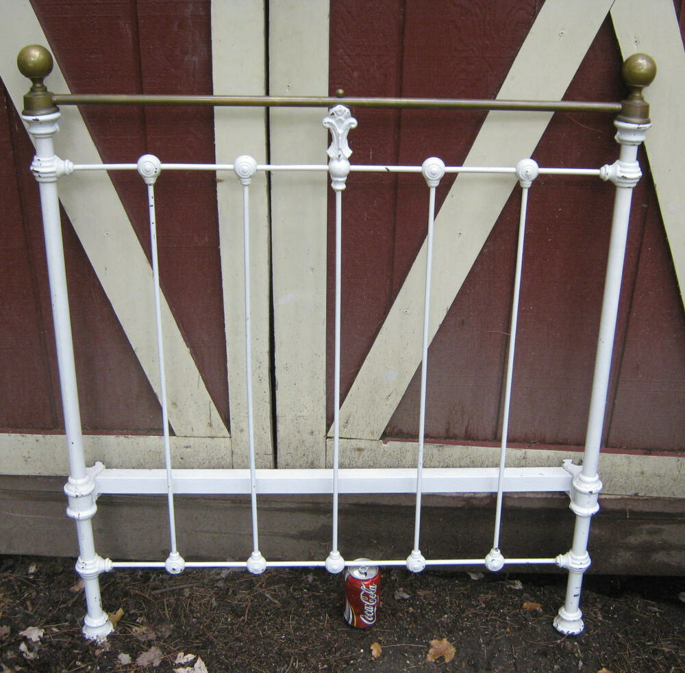Cast Iron Twin Bed