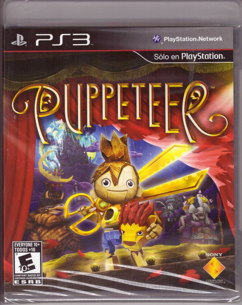 New Playstation 3 Games : Puppeteer playstation ps platformer sony exclusive