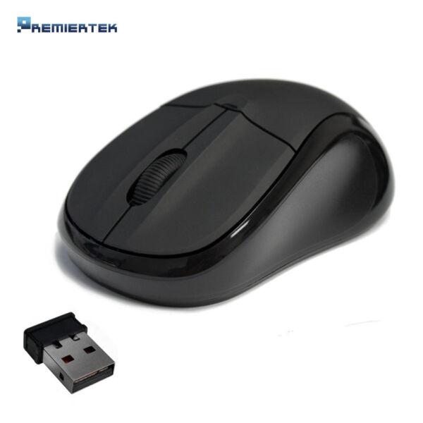 2.4GHz Wireless Cordless Optical Mouse Mice +USB Receiver for PC Laptop