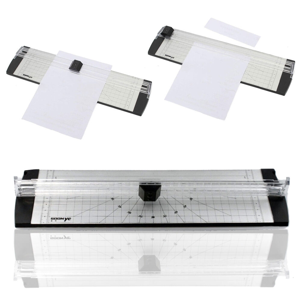New a4 precision photo rotary paper cutter guillotine for Paper cutter for crafts