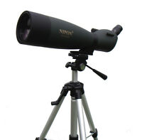 NIPON 25-125x92 spotting scope with a large tripod. Bird watching & stargazing