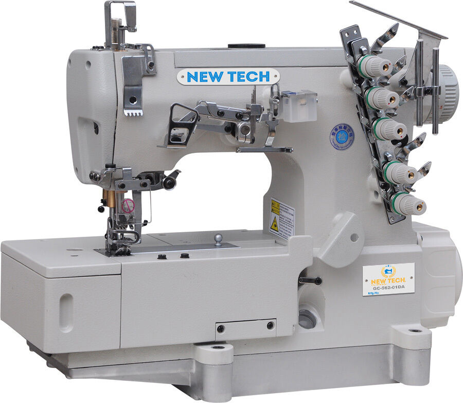 NEW-TECH Coverstitch 3-Needle,5-Thread Sewing Machine with ...