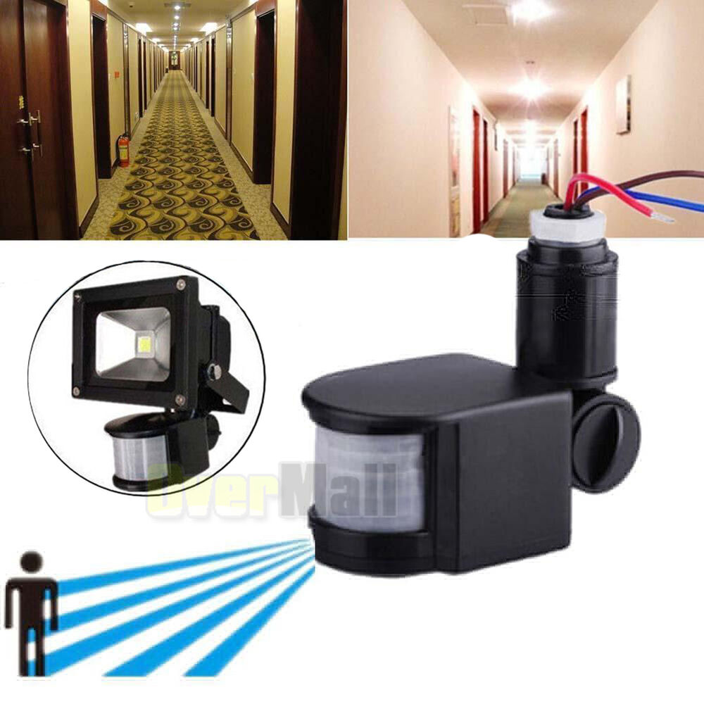 180 12m outdoor security pir infrared motion sensor. Black Bedroom Furniture Sets. Home Design Ideas