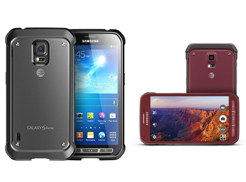 samsung galaxy s5 active sm g870a unlocked smartphone cell. Black Bedroom Furniture Sets. Home Design Ideas