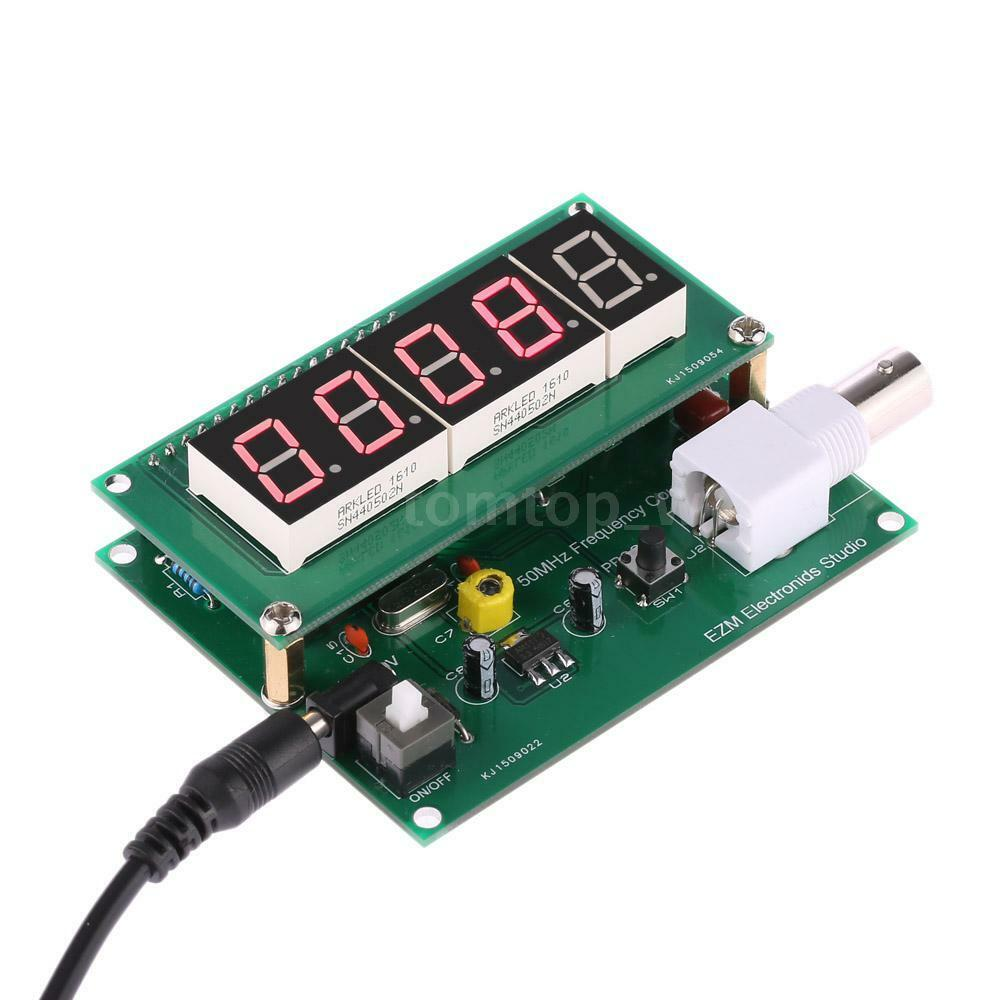 Frequency Counter Kit : New hz mhz digital led frequency tester counter meter