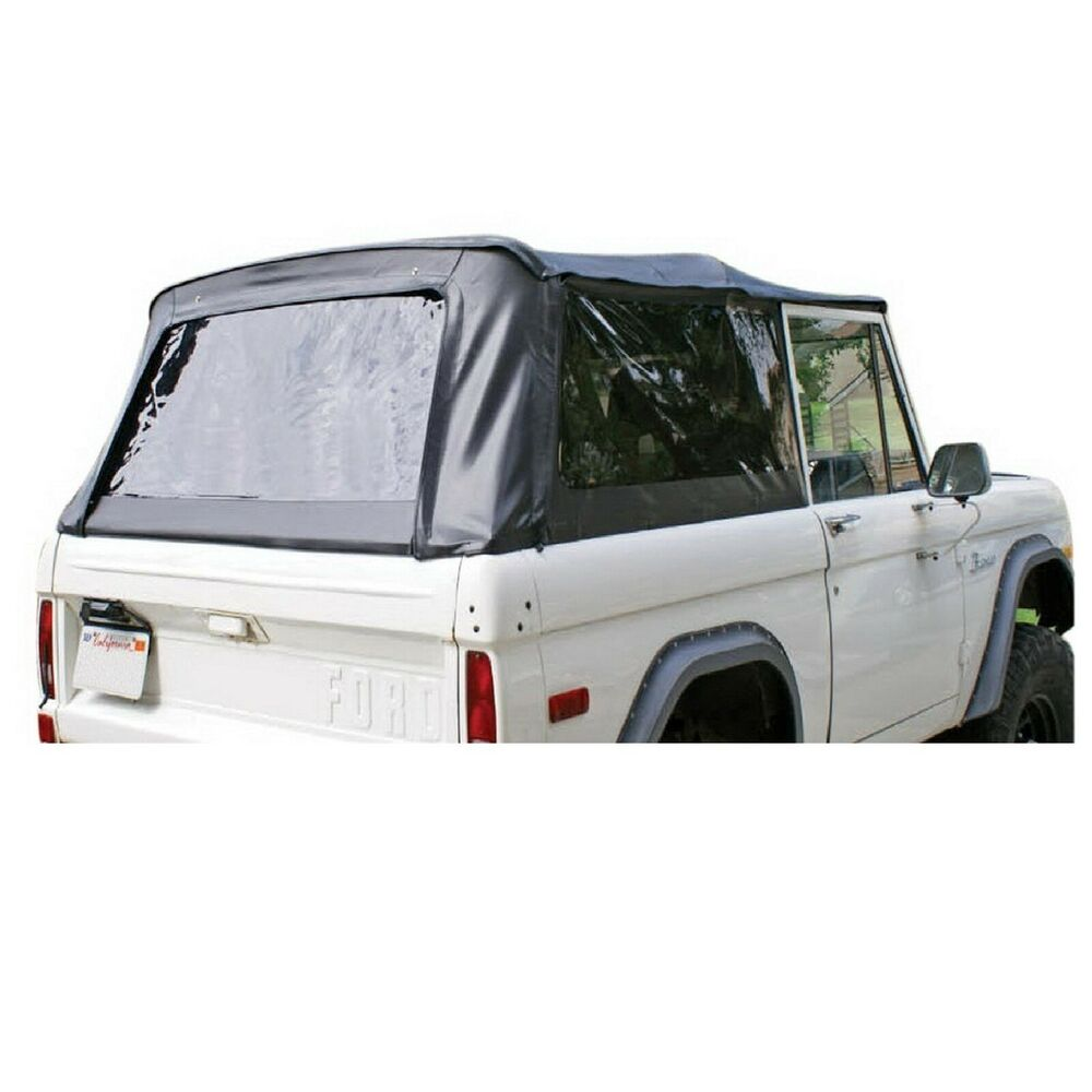 Rampage 98401 Black Soft Top w/Tinted Windows for 66-77 ...