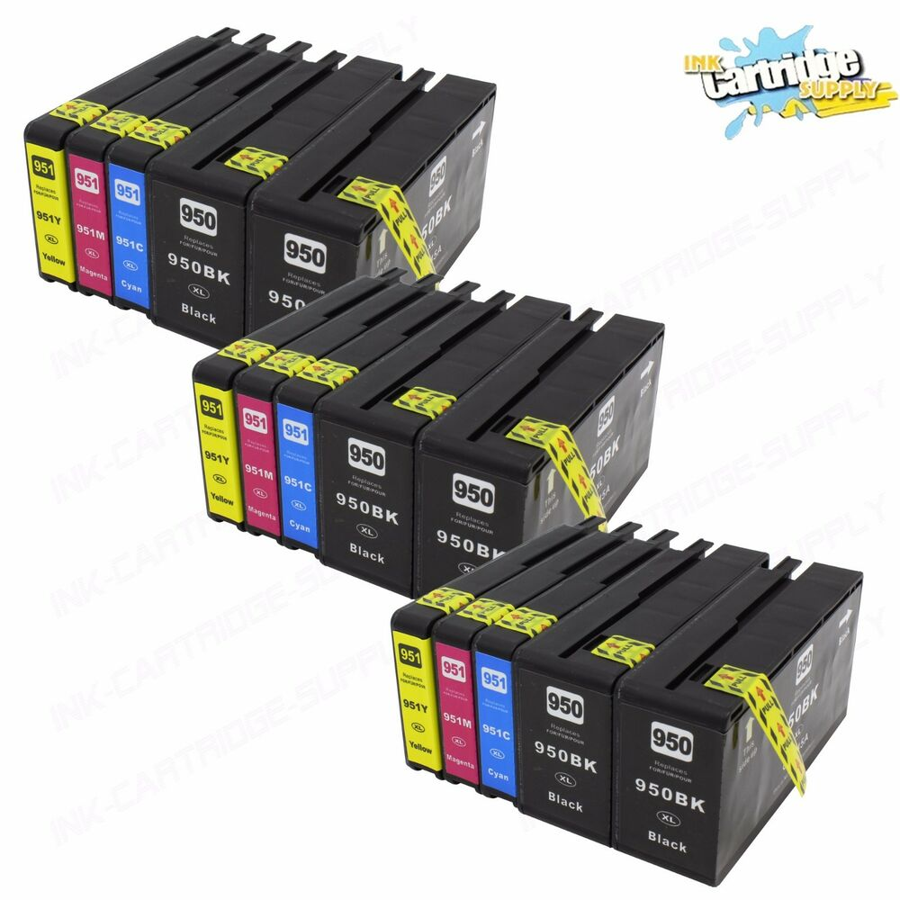 15PK 950XL 951XL High Yield Ink For HP OfficeJet Pro 8100 ...