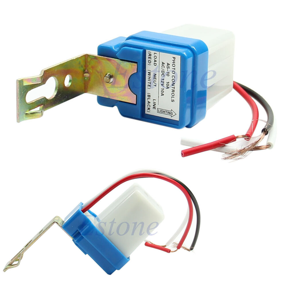 Ac Dc 12v 10a Auto On Off Photocell Street Light Sensor