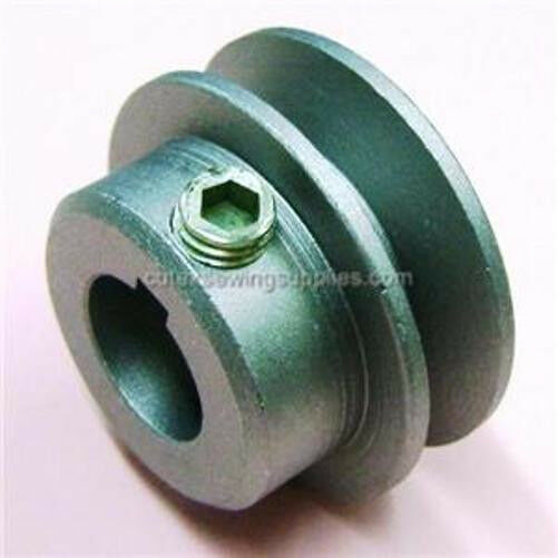 Industrial sewing machine motor pulley 3 4 bore all for Motor pulleys v belt