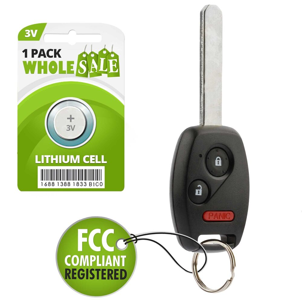 Replacement For 2007 2008 2009 2010 2011 2012 2013 Honda CR-V CRV Key Fob Remote 39294336236 | eBay