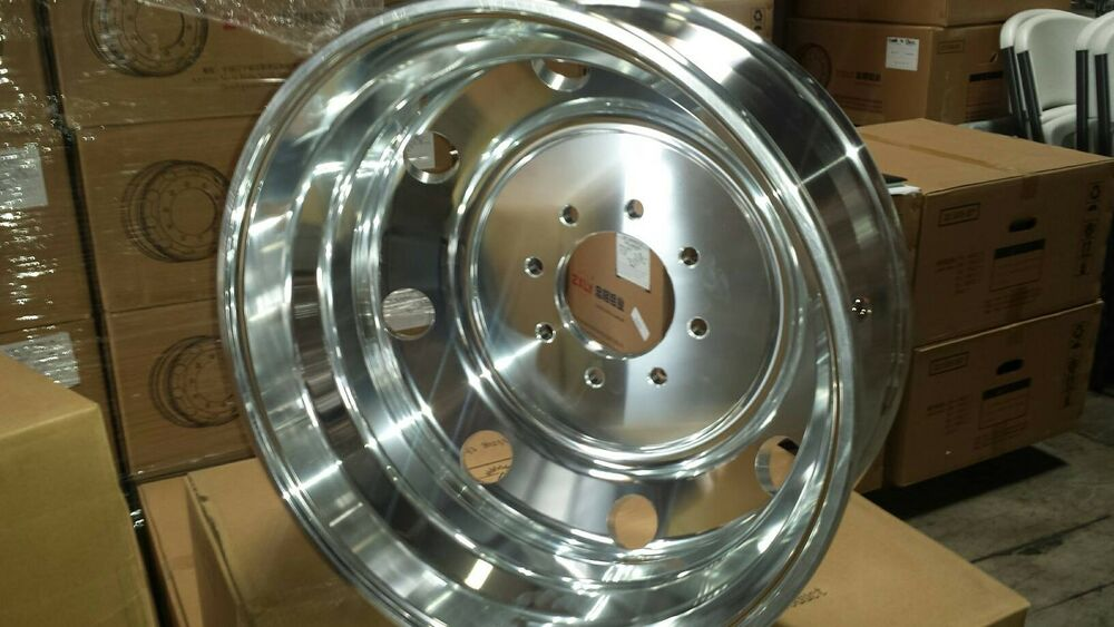 "19.5"" New Forged Classic Style Dually Wheels 8x6.5 Chevy 3500 Or Dodge Ram Ford 