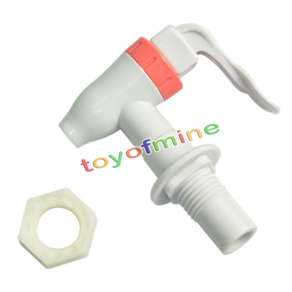 Push type plastic replacement water dispenser tap faucet for Plastic water valve types