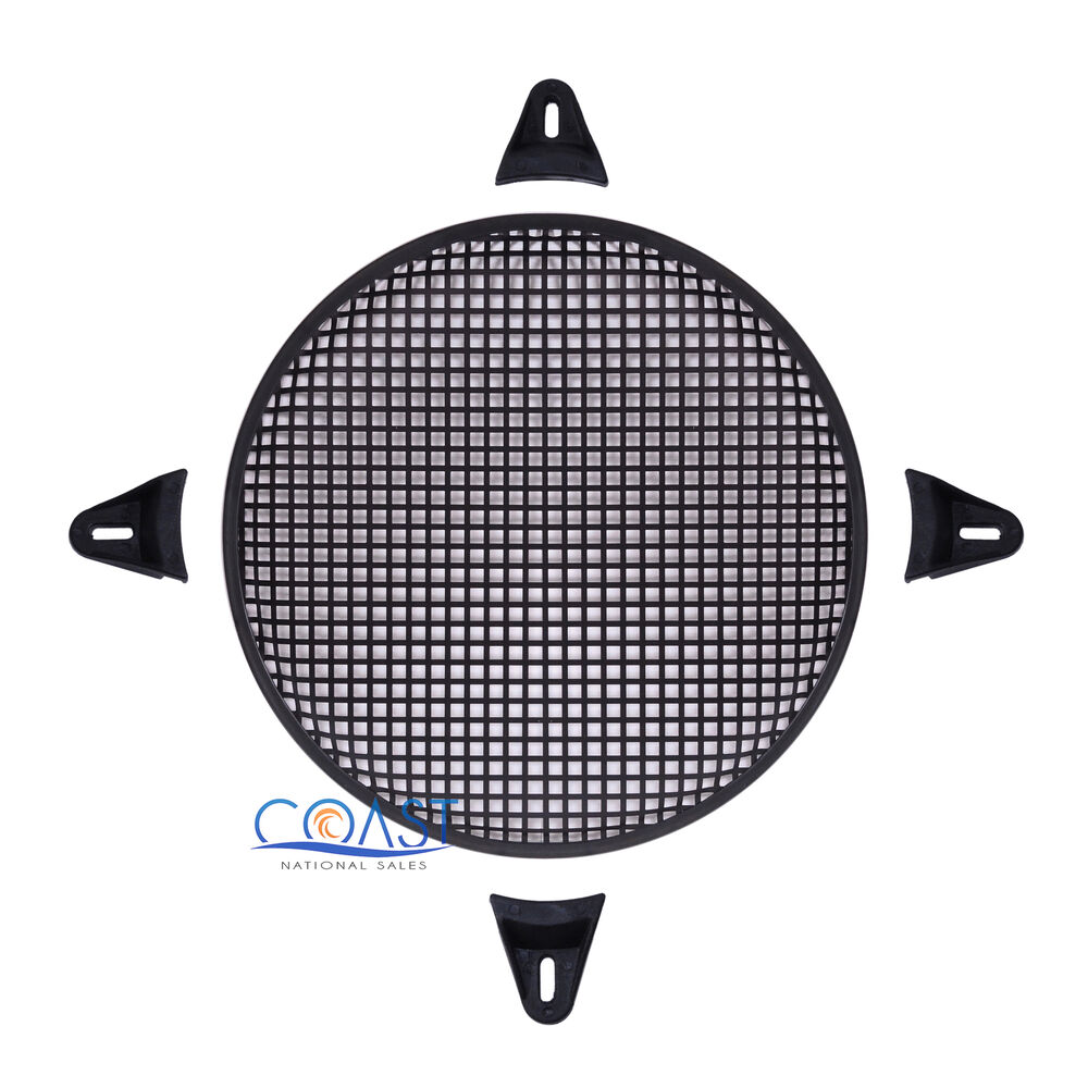 12 Quot Subwoofer Grill ~ Quot subwoofer metal mesh cover waffle speaker grill