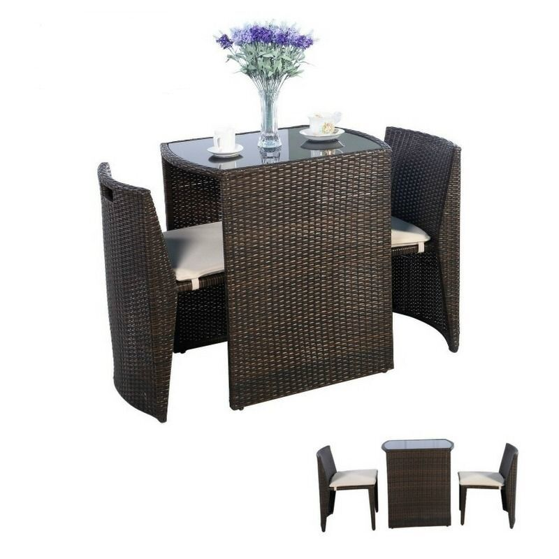 New Small Apartment Balcony Furniture Chair Table Sun
