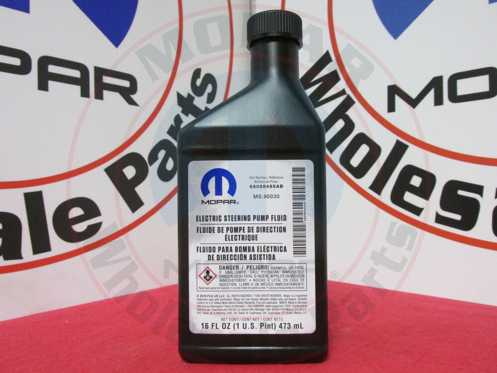 Dodge Chrysler Jeep Electric Power Steering Fluid New Oem