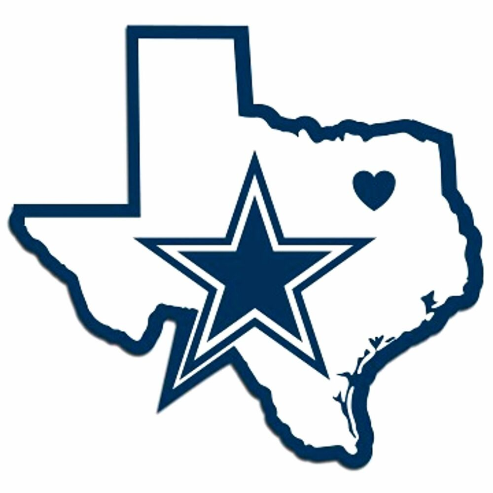 Auto Of Dallas >> NFL Dallas Cowboys Home State Auto Car Window Vinyl Decal Sticker | eBay