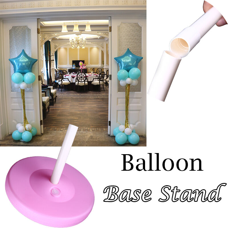 Balloon column base stand display kit wedding birthday for Balloon arch decoration kit