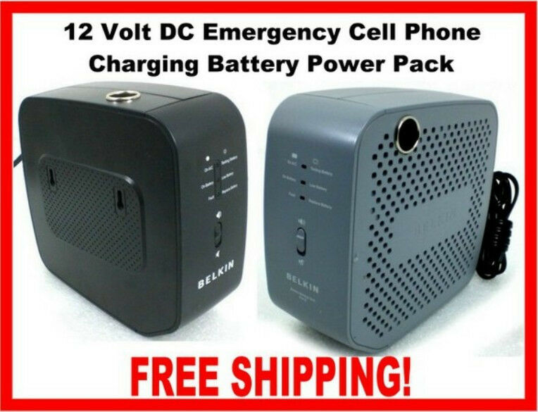 Portable Rechargeable 12 Volt Battery Power Station Pack ...
