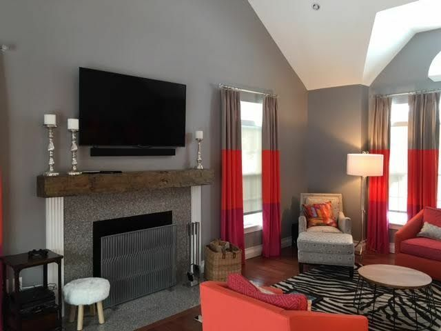 New 6 Foot Hand Hewn Rustic Barn Beam Style Fireplace