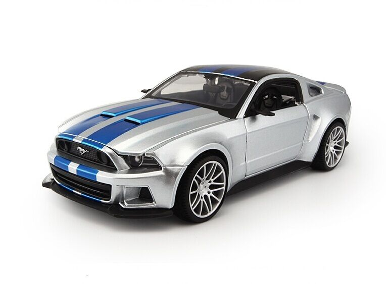 1 24 maisto diecast model speed racing car for ford mustang collection gift toy ebay. Black Bedroom Furniture Sets. Home Design Ideas