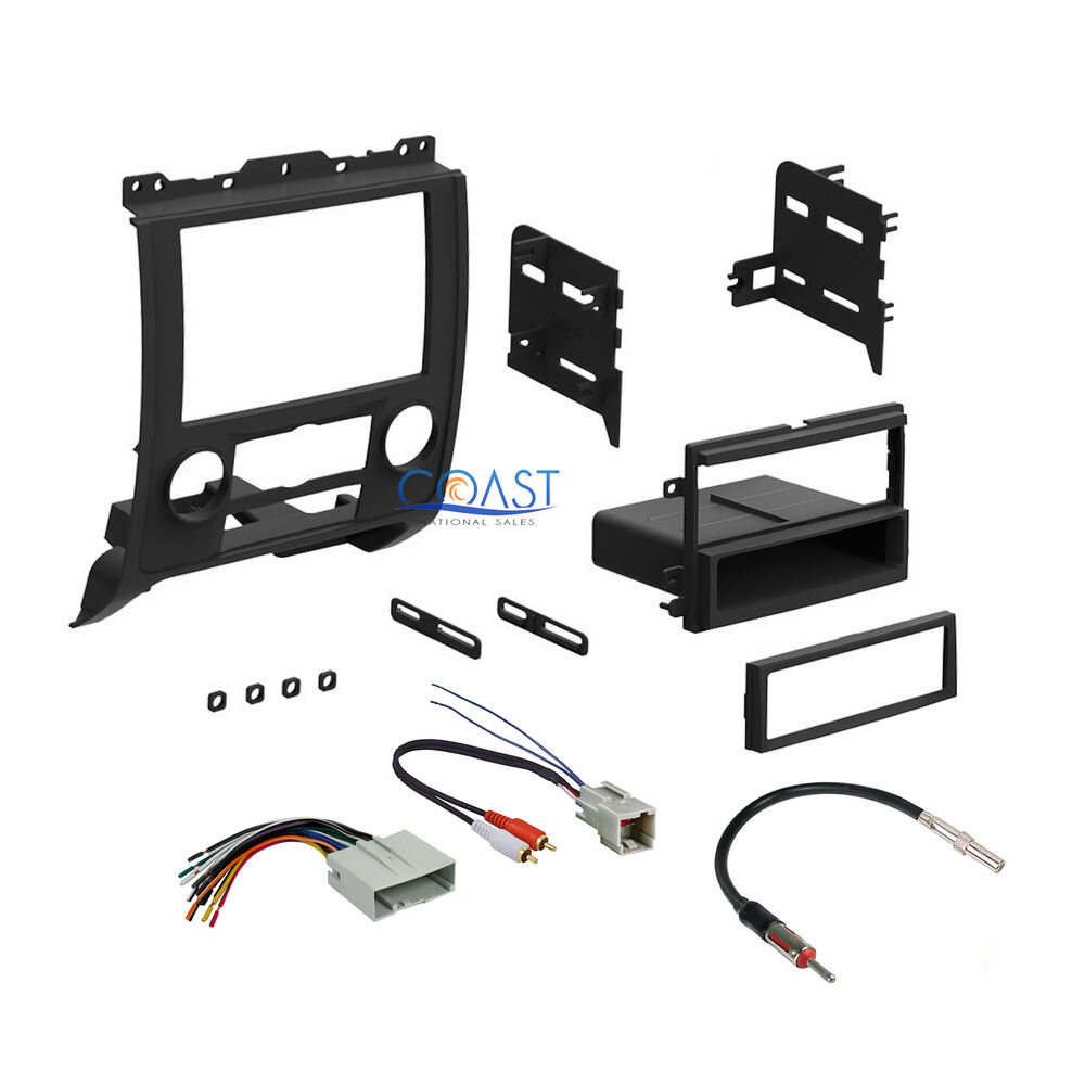 car radio stereo dash kit wire harness antenna for 2008. Black Bedroom Furniture Sets. Home Design Ideas