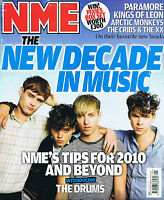 THE DRUMS / PARAMORE / KINGS OF LEON NME    9 January 2010