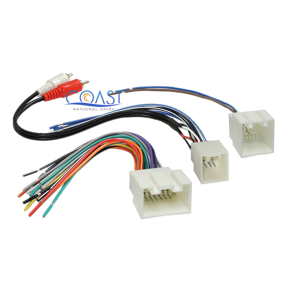 Ford Auto Wiring Harness Opinions About Diagram Tpi Car Radio Stereo Amp With Rca For 1998 2005 Lincoln Mercury Ebay
