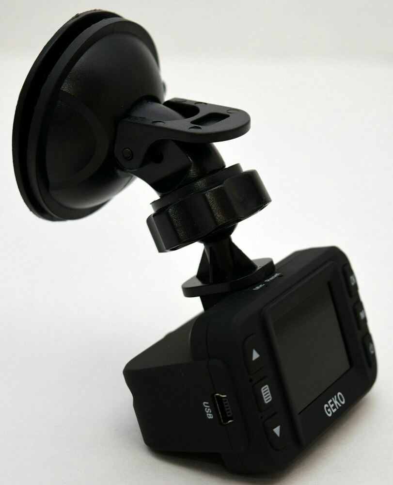 new geko e100 mini full hd 1080p dash cam car dashboard dvr front video camera ebay. Black Bedroom Furniture Sets. Home Design Ideas