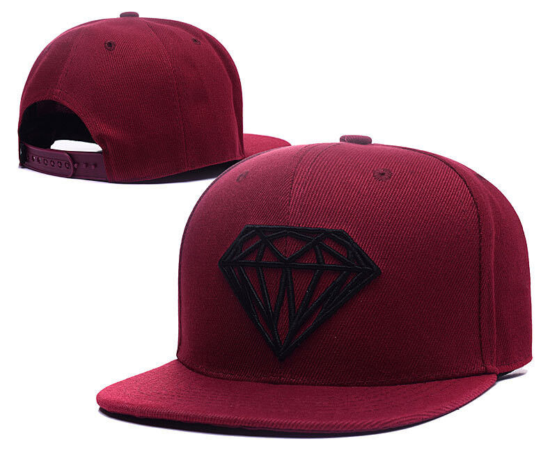 New Fashion Diamond SUPPLY CO Snapback Brown Cap Style