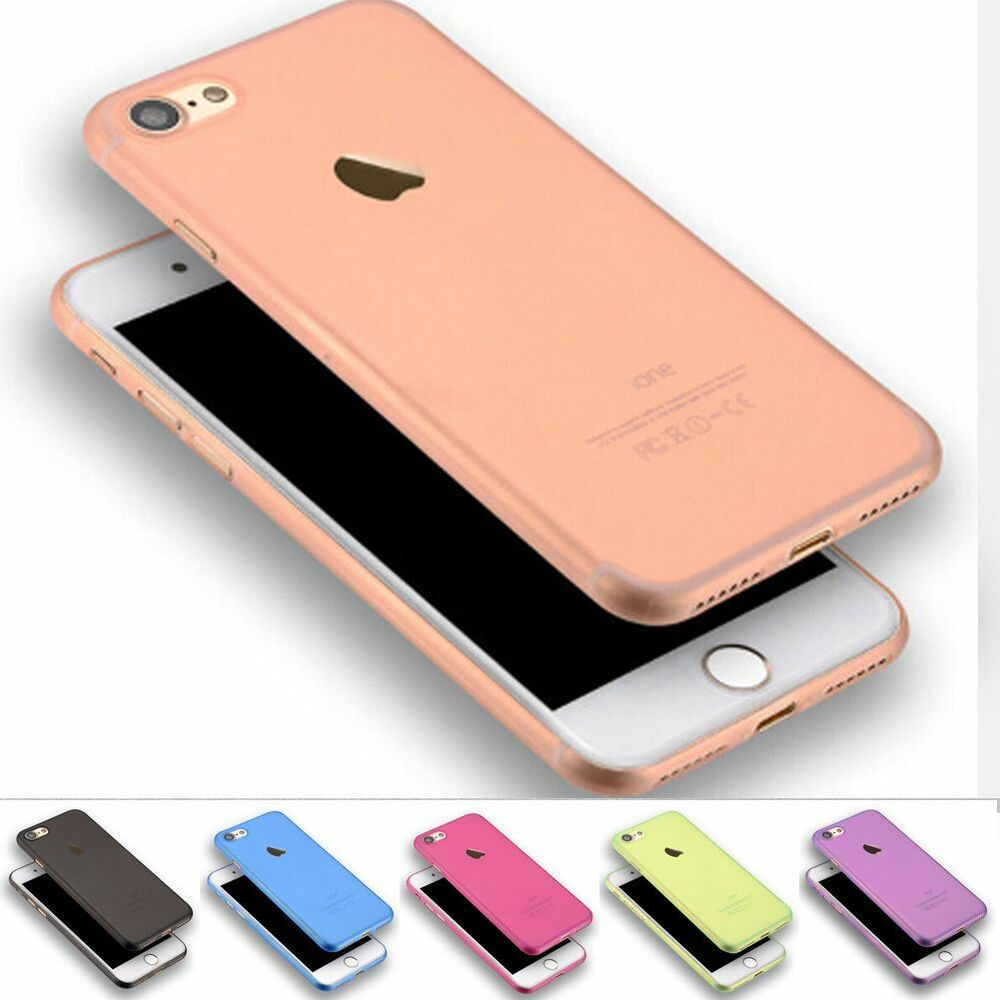 apple iphone case 0 3mm new matte ultra thin slim back skin cover for 10110