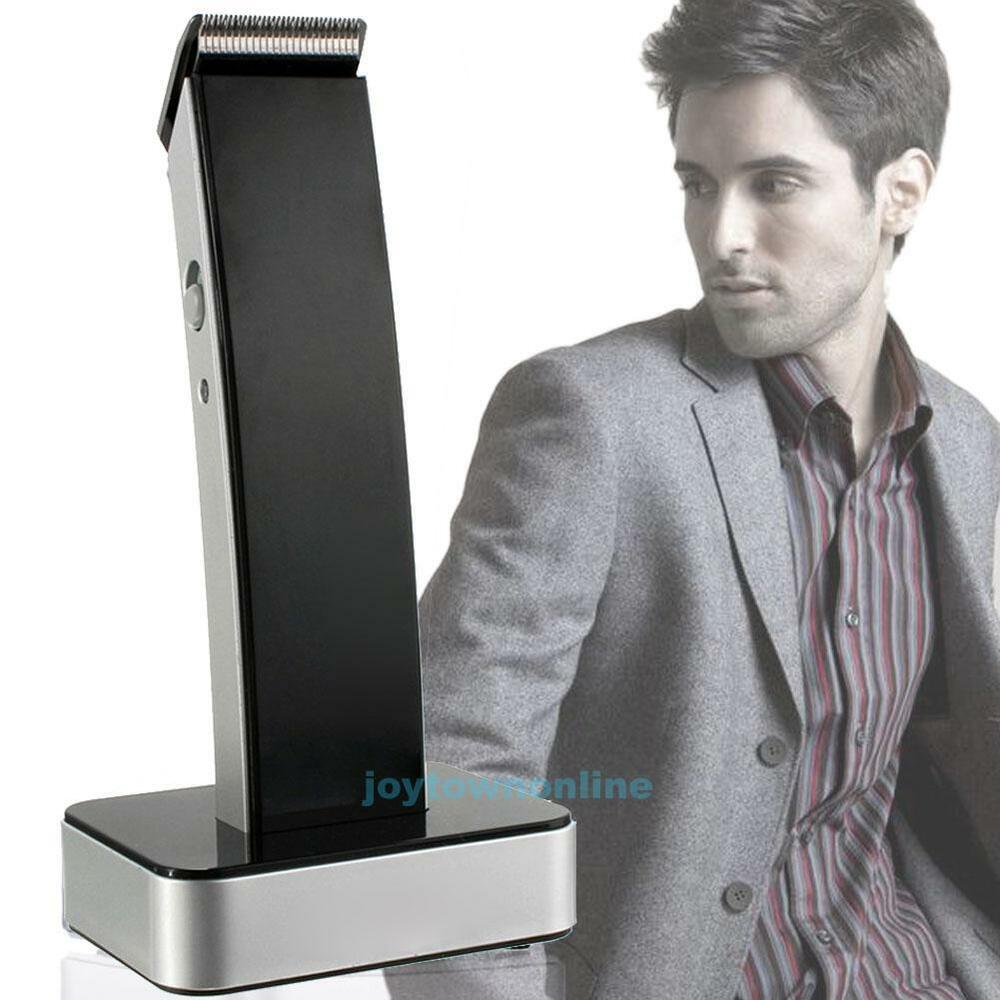 prefessional high tech rechargeable hair clipper beard precision trimmer shaver ebay. Black Bedroom Furniture Sets. Home Design Ideas