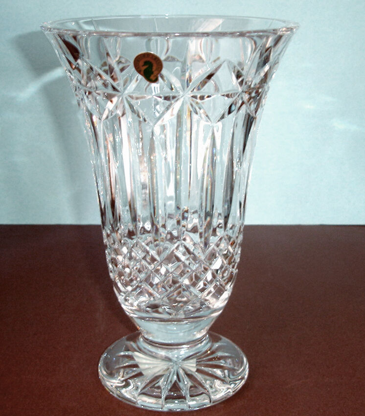 Waterford Crystal Balmoral Vase 10 Made In Ireland 164112 New Ebay