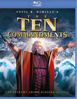 The Ten Commandments (Blu-ray Disc, 2013, 2-Disc Set)