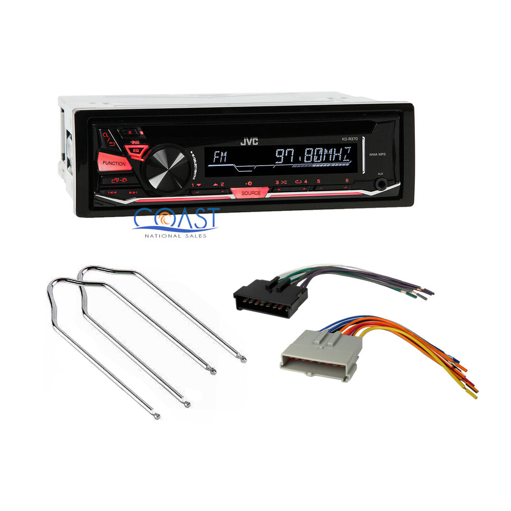 jvc car radio stereo wire harness radio remover for ford mercury mazda kd r370 ebay