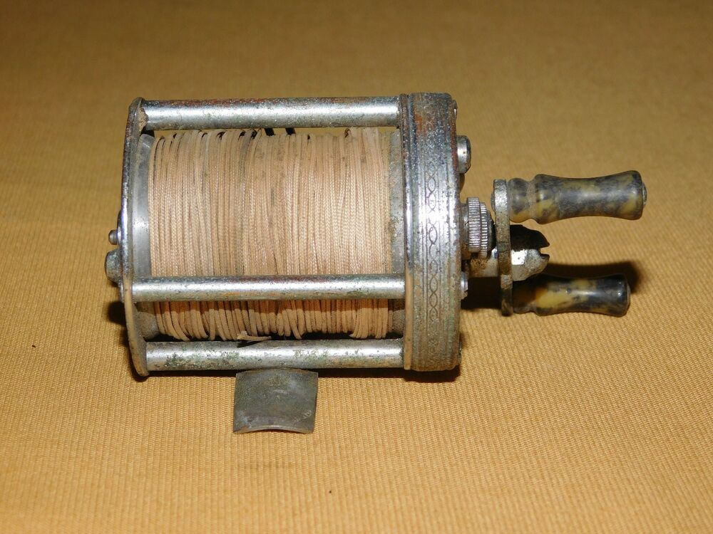 Vintage pflueger summit made in usa fishing reel ebay for Vintage fishing reels for sale