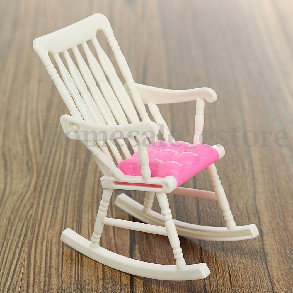 Furniture Rocking Chair Living Room For Barbie Doll